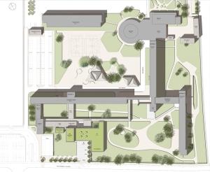 Extension d'un lycée à Mantes La Jolie, EMMANUELLE LE CHEVALLIER ARCHITECTE