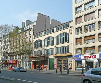 Réhabilitation d'un passage à Paris