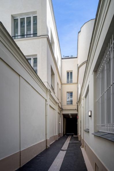 ATELIER D'ARCHITECTURE ELC PASSAGE REHABILITATION DU PASSAGE REILHAC VENELLE 6