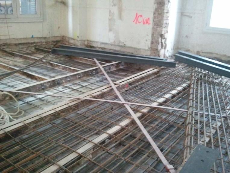 Réhabilitation lourde de l'immeuble rue de Vouillé : Réalisation ATELIER D'ARCHITECTURE ELC