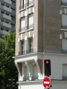 ATELIER D'ARCHITECTURE ELC REHABILITATION LOURDE RUE DE VOUILLE PARIS 15 3 DETAIL ENCORBELLEMENT