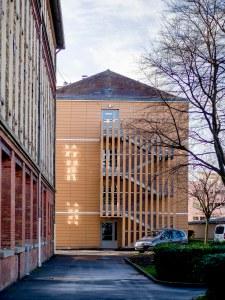 ATELIER D'ARCHITECTURE ELC REHABILITATION THERMIQUE ECOLE SAINTE GENEVIEVE