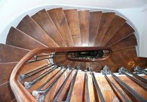 Réhabilitation d'un immeuble haussmanien, l'escalier